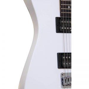 mat ben trai guitar jackson js11 snow white