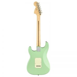 mat sau guitar dien fender american performer stratocaster hss mn satin surf green
