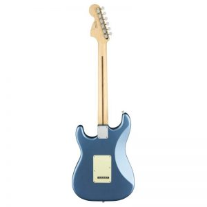 mat sau guitar dien fender american performer stratocaster mn lake placid blue