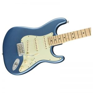 mat truoc guitar dien fender american performer stratocaster mn lake placid blue