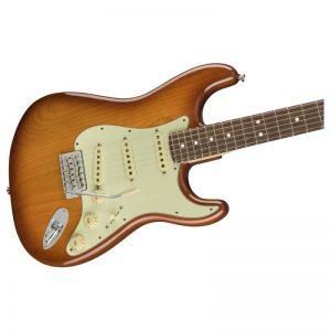 mat truoc guitar dien fender american performer stratocaster rw honey burst