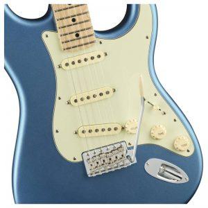 thung dan guitar dien fender american performer stratocaster mn lake placid blue