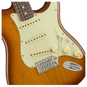 thung dan guitar dien fender american performer stratocaster rw honey burst