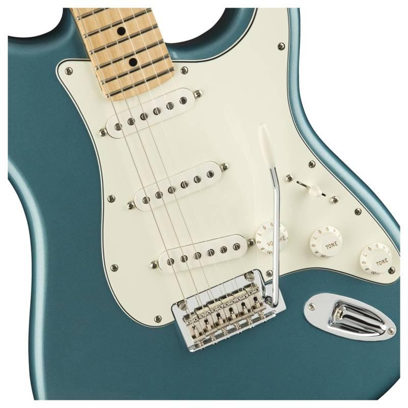thung dan guitar dien fender player stratocaster mn tidepool