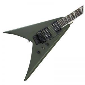 thung dan guitar dien jackson series king v js32 matte army drab