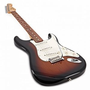 dan guitar dien fender player stratocaster pf 3 colors sunburst