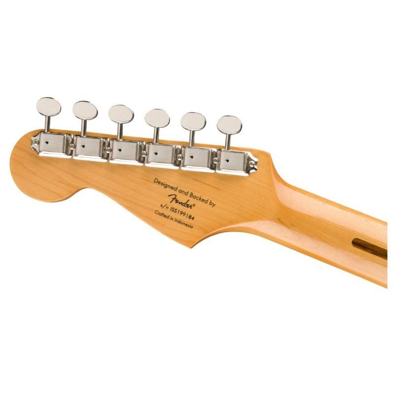 dau dan guitar dien squier classic vibe 50s stratocaster mn white blonde
