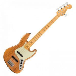 guitar dien fender american pro ii jazz bass v mn roasted pine