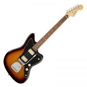 guitar dien fender player jazzmaster pf 3 color sunburst