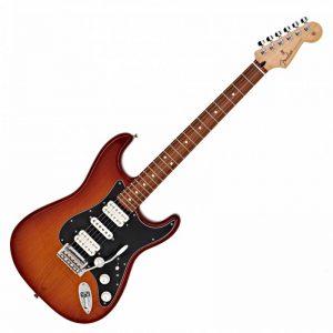 guitar dien fender player stratocaster hsh pf tobacco burst