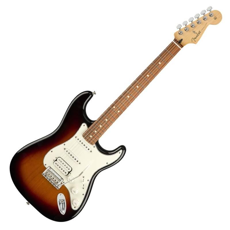 Fender Player Stratocaster HSS PF, 3-Color Sunburst