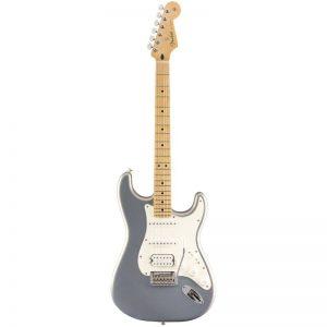 guitar dien fender player stratocaster mn silver