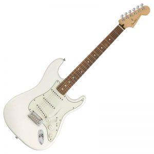 guitar dien fender player stratocaster pf polar white
