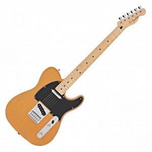 guitar dien fender player telecaster mn butterscotch blonde