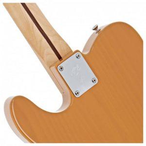 lung dan guitar dien fender player telecaster mn butterscotch blonde