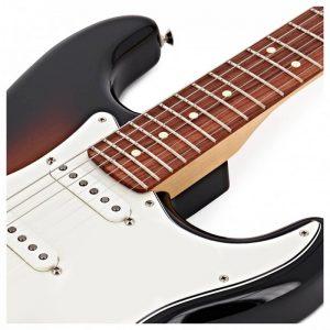 mat dan guitar dien fender player stratocaster pf 3 colors sunburst