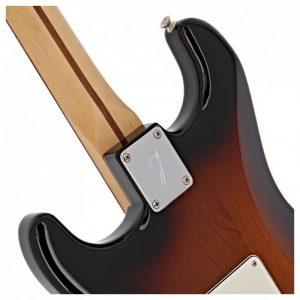 mat sau dau dan guitar dien fender player stratocaster pf 3 colors sunburst