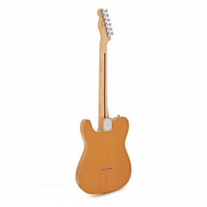 mat sau guitar dien fender player telecaster mn butterscotch blonde