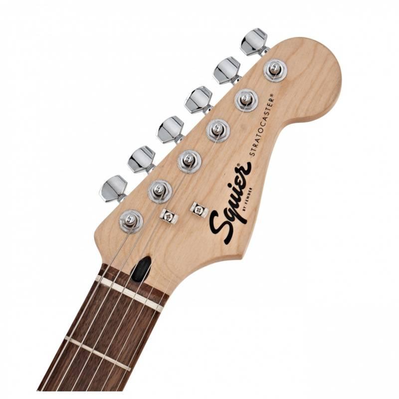 mat truoc can dan guitar dien squier bullet stratocaster hss w trem arctic white