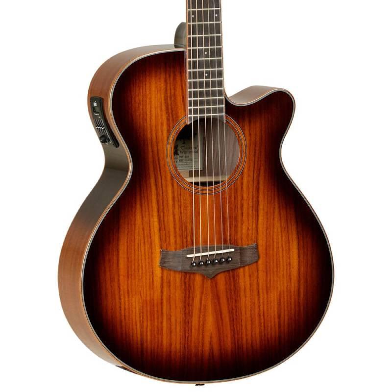 mat truoc guitar Tanglewood TW4 KOA