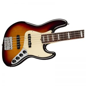 mat truoc guitar bass fender american ultra jazz bass v rw ultraburst