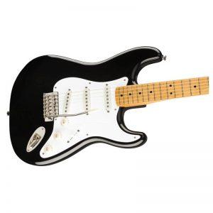 mat truoc guitar dien squier classic vibe 50s stratocaster mn black