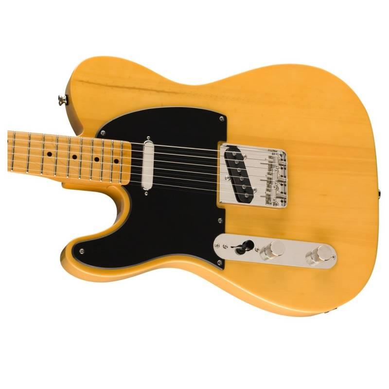 mat truoc guitar dien squier classic vibe 50s telecaster mn lh butterscotch blonde