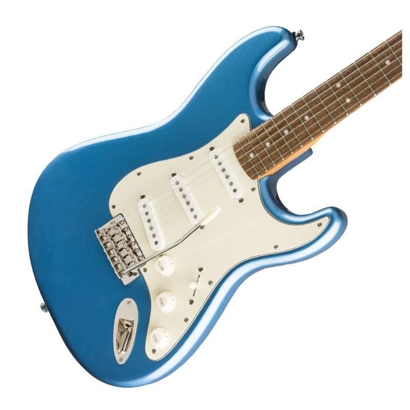 mat truoc guitar dien squier classic vibe 60s stratocaster lrl lake placid blue
