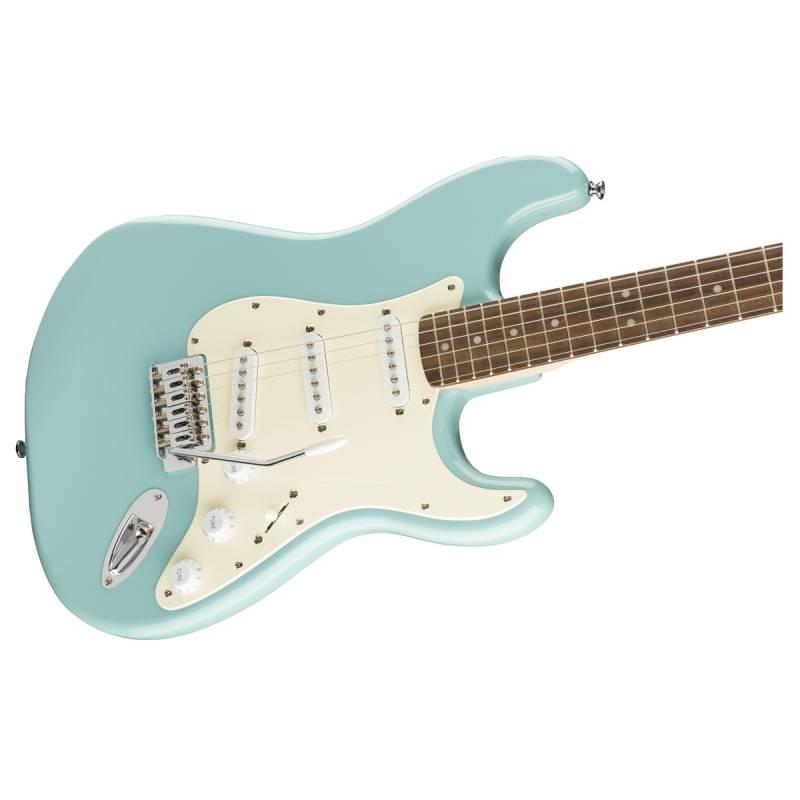 mat truoc guitar dien squier fsr bullet stratocaster trem lrl tropical turquoise