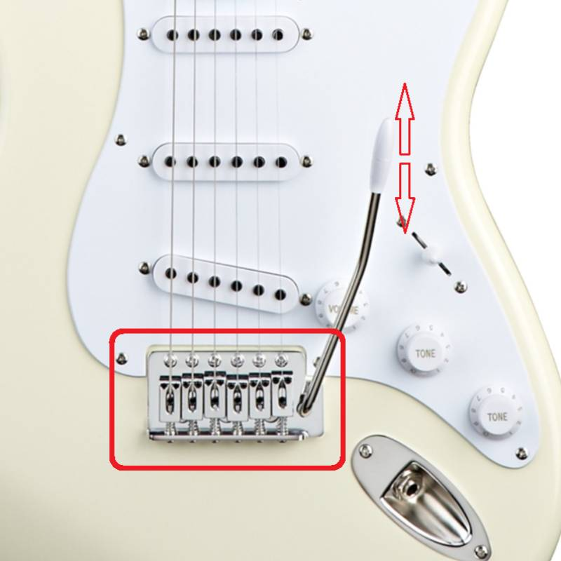 ngua dan guitar dien squier bullet stratocaster w trem arctic white