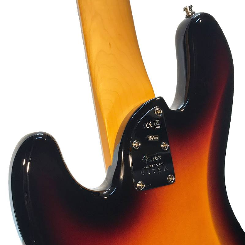 phan got lung guitar Bass Fender American Ultra Jazz Bass V Rosewood Fingerboard Ultraburst