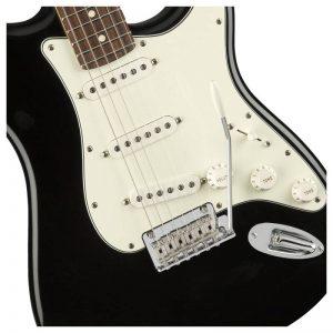 than dan guitar dien fender player stratocaster pf black