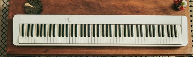 thiet ke cua dan piano dien Casio PX-S1100