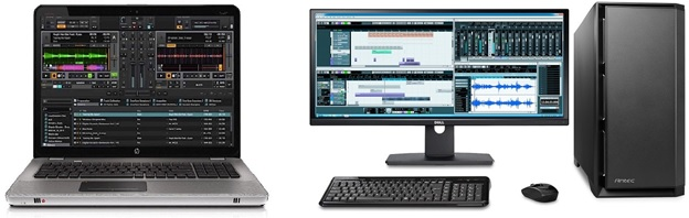laptop va may tinh ban can thiet trong lap dat thu am tai nha