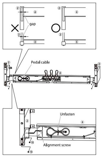 gan 2 bang side panel va bang pedal