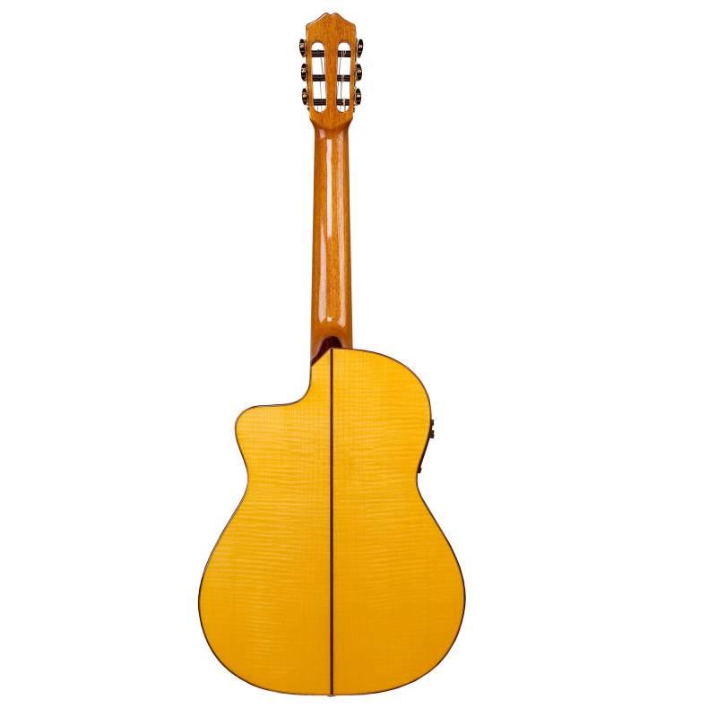 mat sau guitar cordoba 55fce honey amber