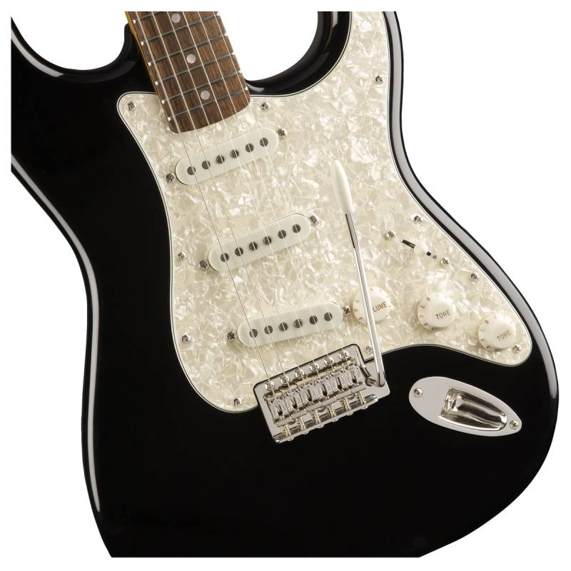 than dan guitar dien squier classic vibe 70s stratocaster lrl black