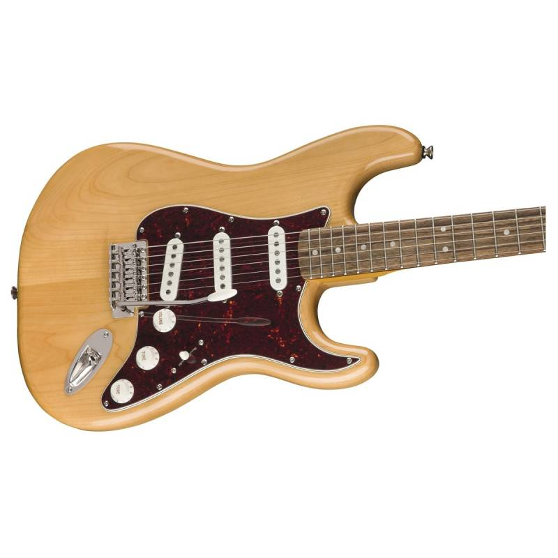 than dan guitar squier classic vibe 70s stratocaster lrl natural